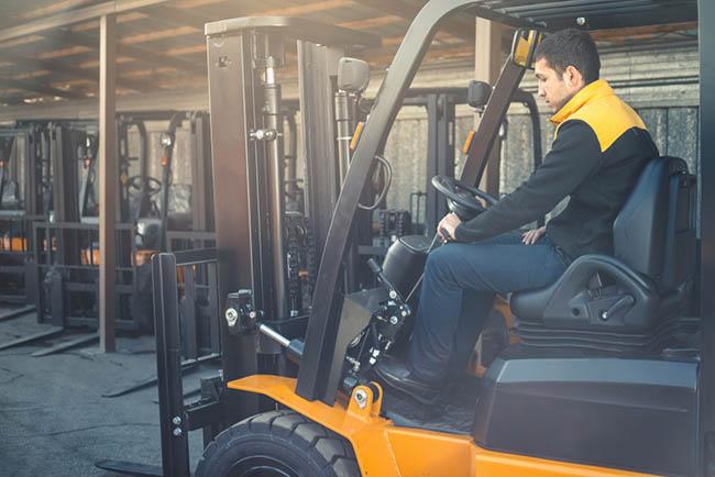 Forklift Operations – 8H (SCS)