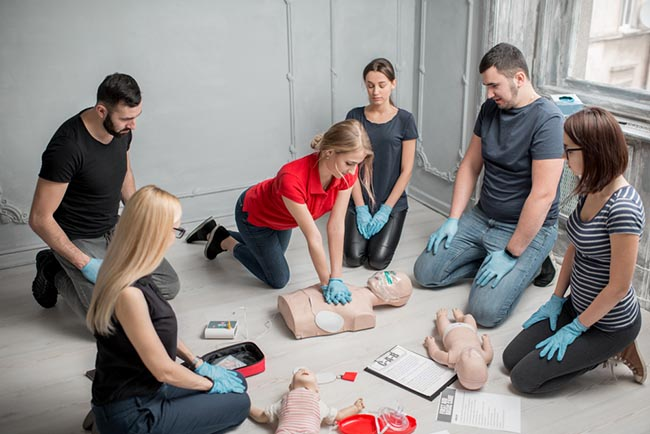 St. John Ambulance Standard First Aid Level C (Adult and Child CPR) – 14 hours
